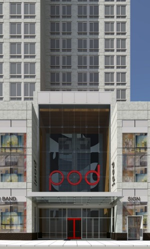 POD TIMES SQUARE: This is the third Pod property in Manhattan – a 28-storey, 665-room flagship that's a convenient ...
