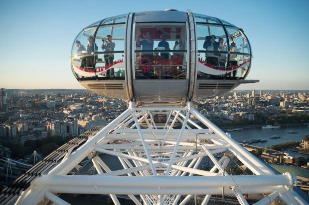 LONDON EYE, LONDON: The trendsetter for the 21st century Ferris (renamed observation) wheel was conceived for the ...