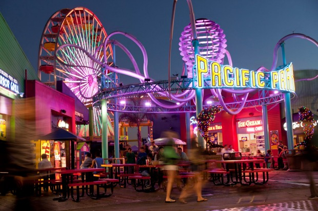 PACIFIC WHEEL, SANTA MONICA: The much-filmed pier that thrusts into the ocean at this fabled Los Angeles beach suburb ...
