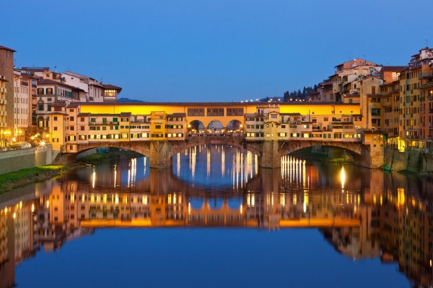 Ponte Vecchio, Florence, Italy: The Ponte Vecchio won't win many plaudits for engineering – structurally, it's a bog ...
