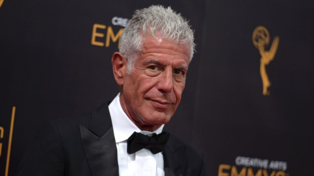 The late, great Anthony Bourdain.