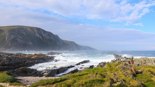 The Garden Route coastline, South Africa.