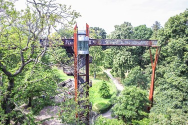 KEW TREETOP WALKWAY, BRITAIN Head to London suburb Kew and the Royal Botanic Gardens for this walkway, designed by the ...