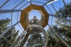 LIPNO TREETOP WALKWAY, CZECH REPUBLIC Starting at ground level and eventually winding 24 metres high, this canopy ...