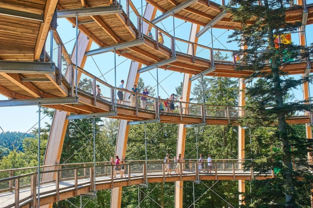BAUMWIPFELPFAD, GERMANY This treetop walk in the Bavarian Forest National Park is the world's longest at 1300 metres. It ...