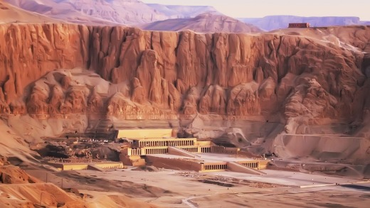 Mortuary Temple of Hatshepsut, Luxor.