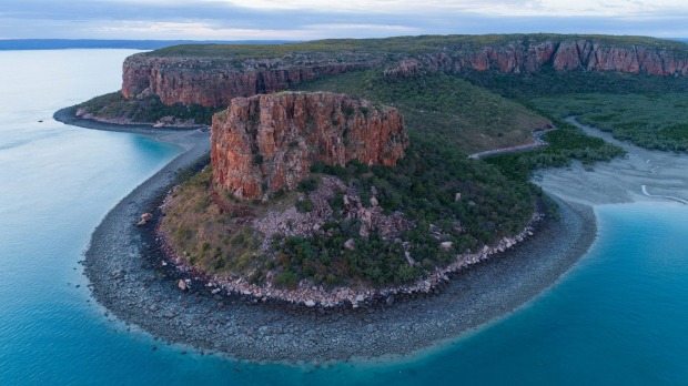 The beautiful Kimberley Coast.