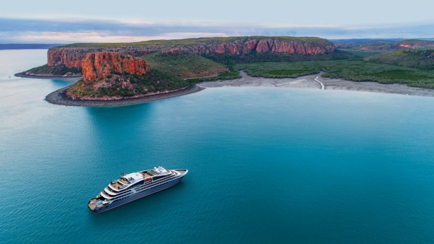Cruising the Kimberley with Ponant.