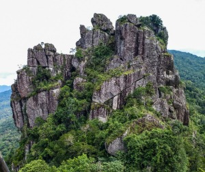 The climb to Seven Fairy Mountain is steep, with lots of surprises and a spectacular view.
