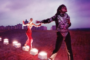 'An Illuminating Path' by David LaChapelle, part of the Michael Jackson: On the Wall exhibition at the National Portrait ...