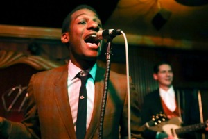 Leon Bridges performs at the Green Mill Jazz Club in Chicago.