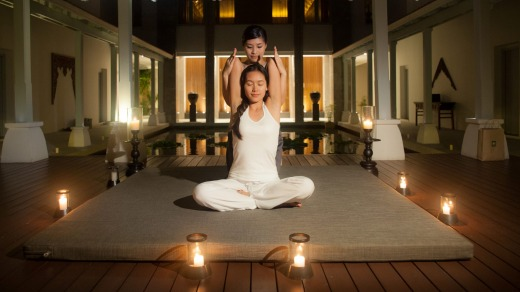 The resort offers wellness packages.