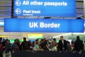 The UK Border Force missed its 45-minute or less target for passport check wait times for 95 per cent of visitors from ...