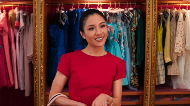 "This image released by Warner Bros. Entertainment shows Constance Wu in a scene from ""Crazy Rich Asians."" (Warner Bros. ..."