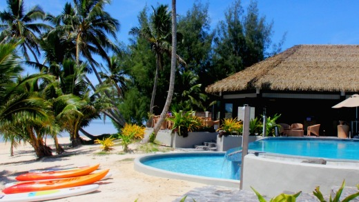 Nautilus Resort, Rarotonga, Cook Islands.