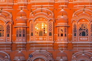 Hawa Mahal in Jaipur, India.