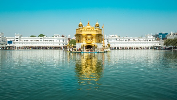 Amritsar's 'Golden Temple'.