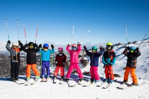 Thredbo's age-segregated ski schools keep kids with peers.