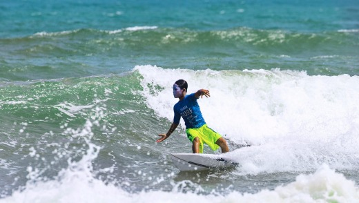 The future of surfing in China is in Hainan.