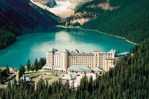 Fairmont Chateau on Lake Louise.
