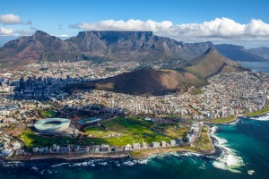 View of Cape Town, South Africa.