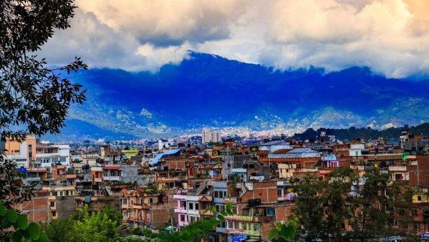 Kathmandu, the capital of Nepal.