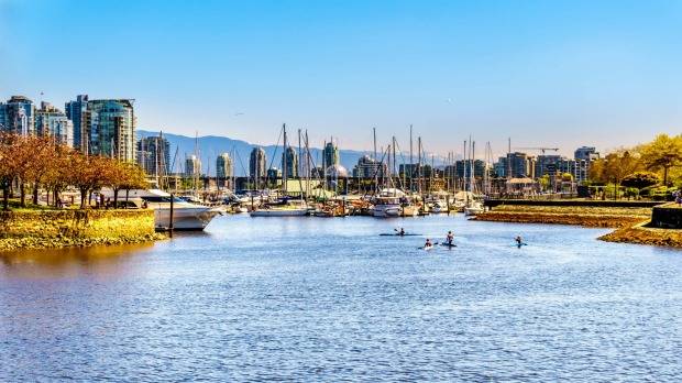 Vancouver is one of the prettiest cities on Earth.