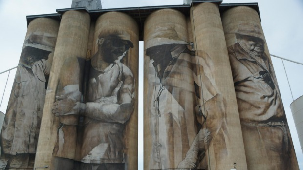 Silo Art Trail, Wimmera, Victoria: Artists turn grain silos
