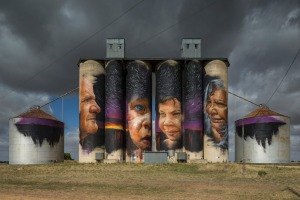 Silo art by Adnate.