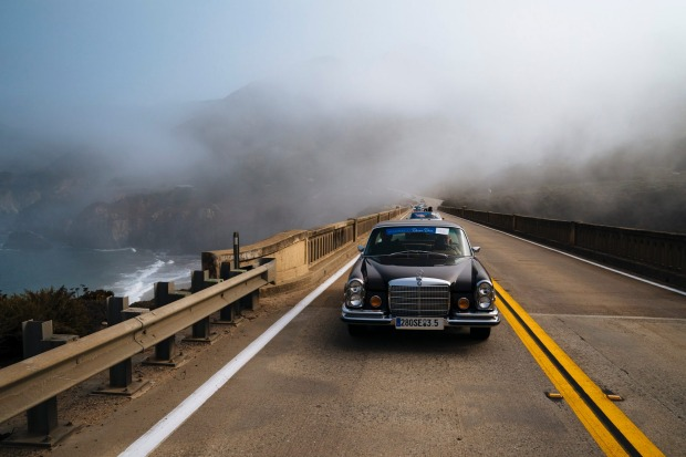 Dream Drive event at the Bixby Creek Bridge in Monterey, Calif. on Thursday, August 9 2018.