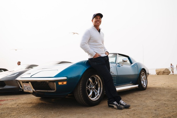 Australian Supercars legend Craig Lowndes celebrates the re-opening of the iconic Highway 1 on Visit California's Dream ...