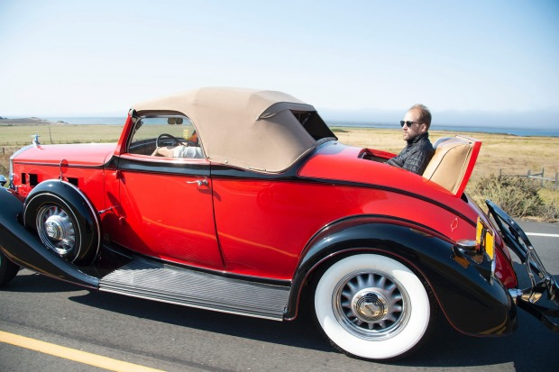 The Dream Drive celebrates the reopening of Highway 1, California's most epic road trip, with a convoy of classic cars ...