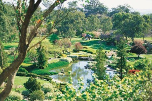 The Japanese Garden in Cowra.