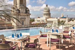 Gran Hotel Manzana Kempinski sits in a prime location in Old Havana.