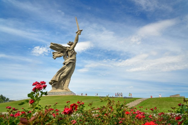 The Motherland Calls, Volgograd, Russia: If the Motherland does indeed call, then it calls loudly, because this statue ...