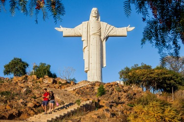 Cristo de la Concordia, Cochabamba, Bolivia: Here's the thing about Christ the Redeemer in Rio de Janeiro: it's not even ...