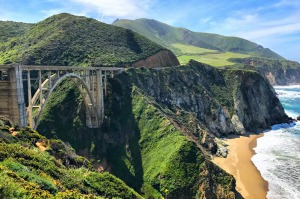 Bixby Bridge at Big Sur.