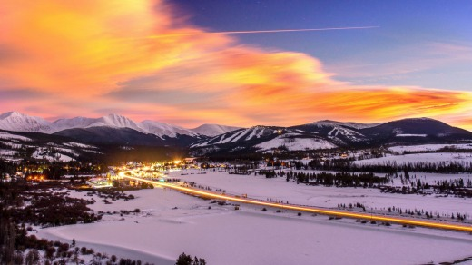 Down to earth charms: Winter Park Resort is becoming a popular ski town.