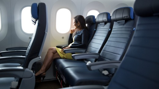 Delta, United and American Airlines replace economy seats
