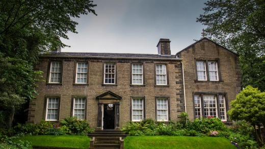 Haworth parsonage, the Bronte family home, remains a place of powerful melancholy.
