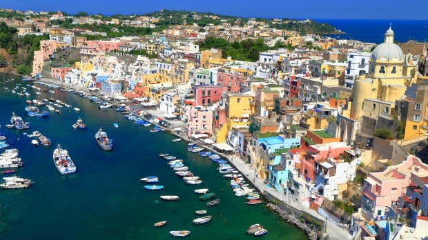 Procida: A charming island town in Italy.