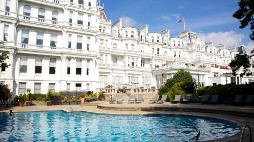 The Grand touts itself as the only five-star luxury hotel on the British coast and has been wowing guests and passers-by ...