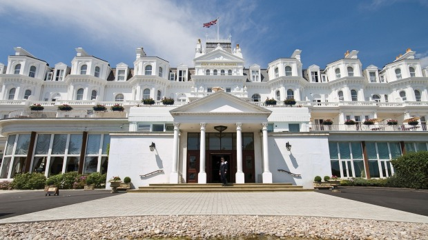 Eastbourne's Grand Hotel, aka the White Palace.