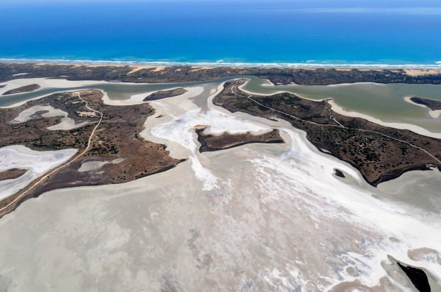 Coorong National Park, SA: There's something wistfully romantic about the Coorong's lagoon landscape, with the ...