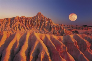 The Walls of China, Mungo National Park.