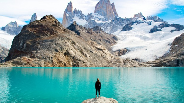 Beautiful and chilly: Fitz Roy Mountain, Patagonia.