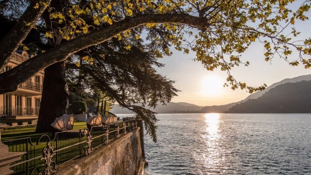 Casta Diva Resort & Spa is is perched on a lakeside estate at Lake Como, Italy.