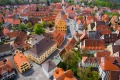 The well-preserved medieval, fortified towns such as Nordlingen are highlights of southern Germany's Romantic Road.
