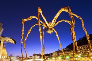 Louise Bourgeois's <i>The Spider</i>, Guggenheim Museum, Bilbao.
