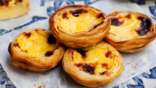 Egg tart is a traditional Portuguese dessert.